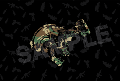 Guns Gear & Beer Podcast M81 Smartphone Wallpaper