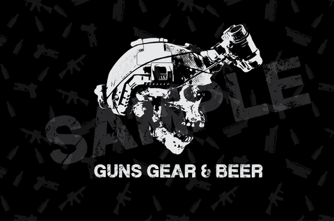 Guns Gear & Beer Podcast Smartphone Wallpaper
