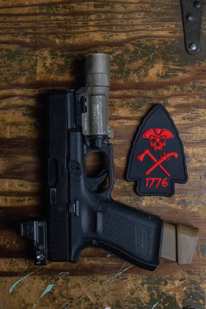 Arrowhead Murdered Out Morale Patch