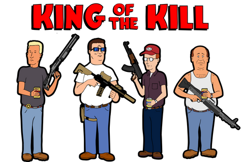King of The Kill Sticker Set