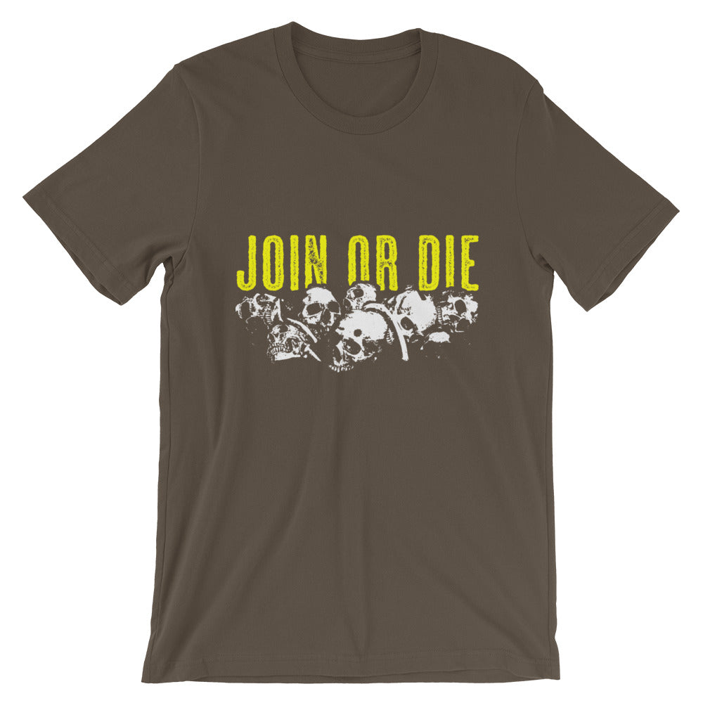 Join Or Die Short Sleeve Tee