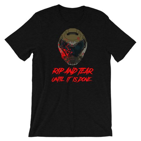 Rip And Tear Short Sleeve Tee