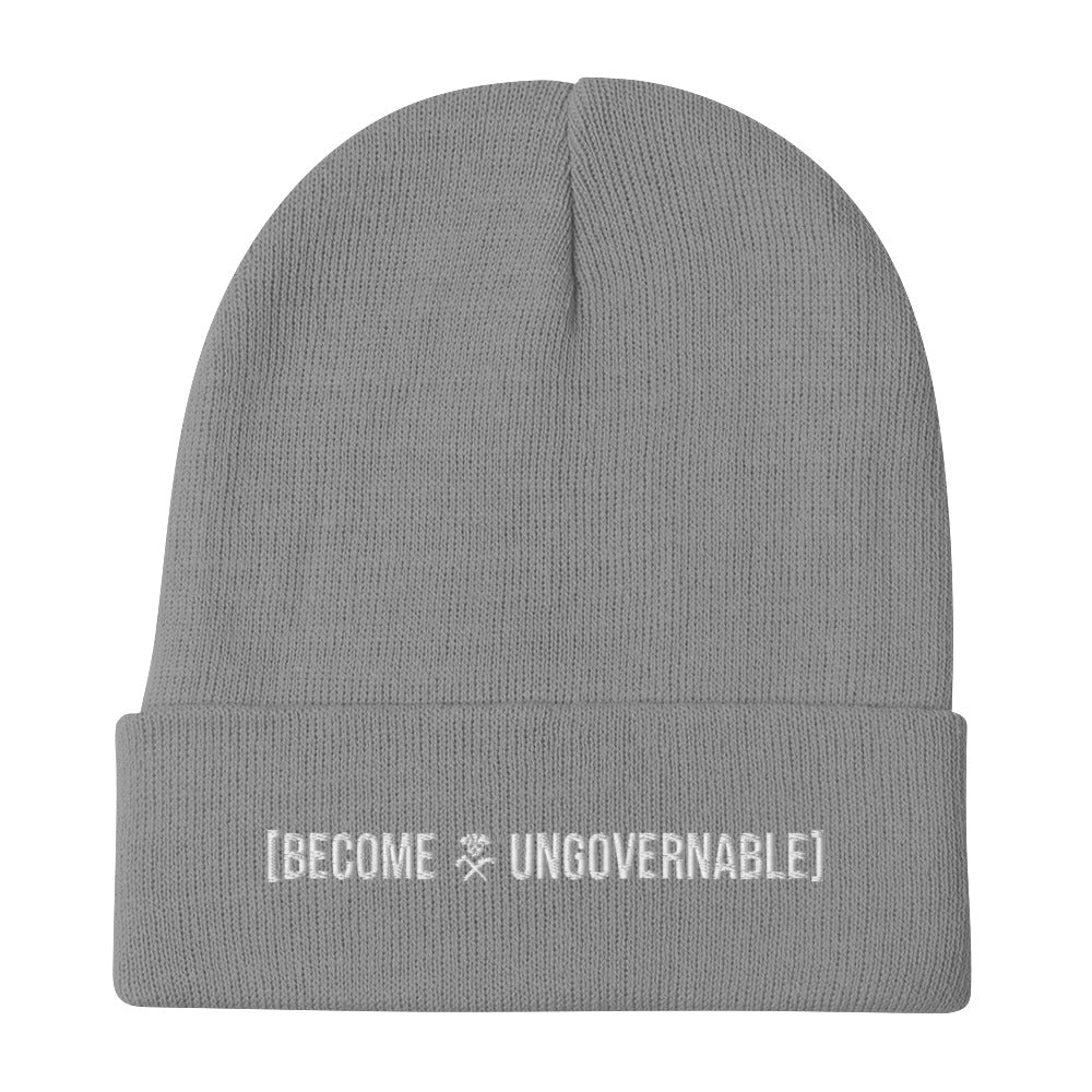Become Ungovernable Embroidered Beanie
