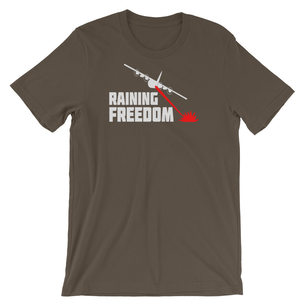 Raining Freedom Short Sleeve Tee