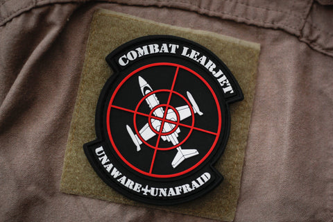 Patches - Combat Learjet Limited Edition Morale Patch
