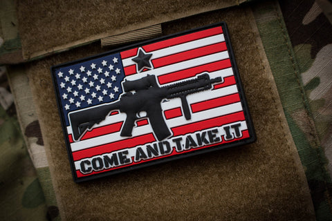 Patches - Come And Take It Morale Patch Standard