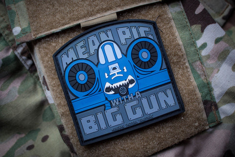 Patches - Mean Pig Morale Patch