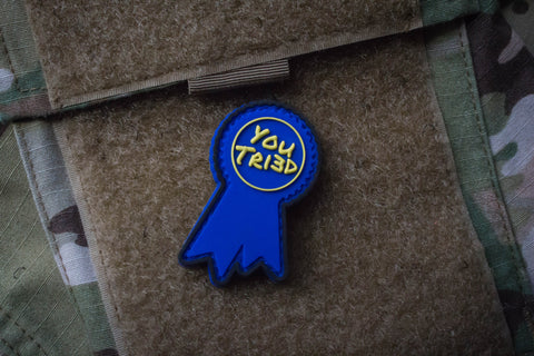 Patches - Participation Award Blue Morale Patch