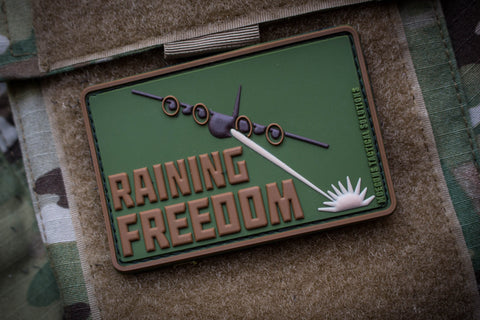 Patches - Raining Freedom Subdued Morale Patch