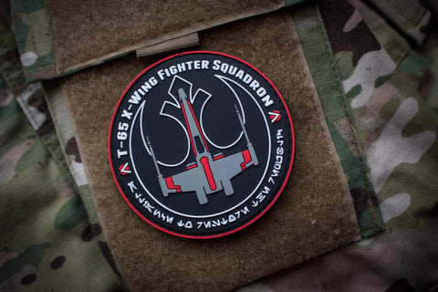 Patches - Rebel Alliance X-Wing Red Squadron Patch