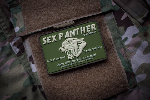 Patches - Sex Panther Subdued Morale Patch