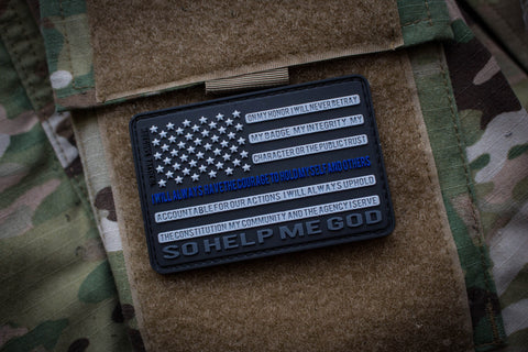 Patches - Thin Blue Line Morale Patch