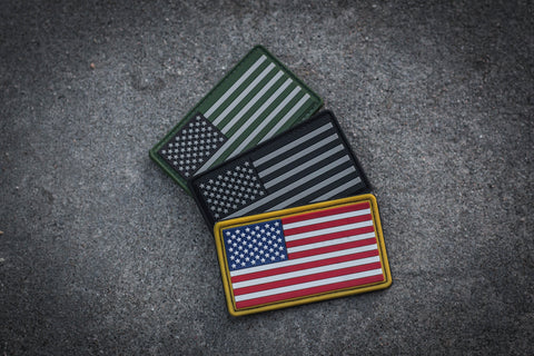 Patches - US Flag Patch Package