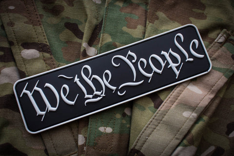 Patches - We The People Raid Patch