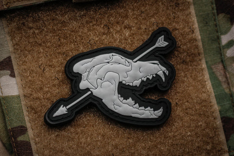 Patches - Wolf Hunter Morale Patch Color