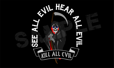Kill All Evil Wallpaper