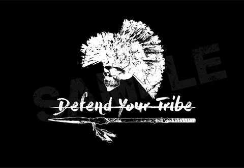 Defend Your Tribe Smartphone Wallpaper
