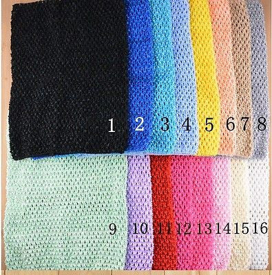 69574ace5a0 10 x 12 Inch Unlined Crochet Tutu Top Supplies Tube Tops Chest wrap Girls -  prettybowz