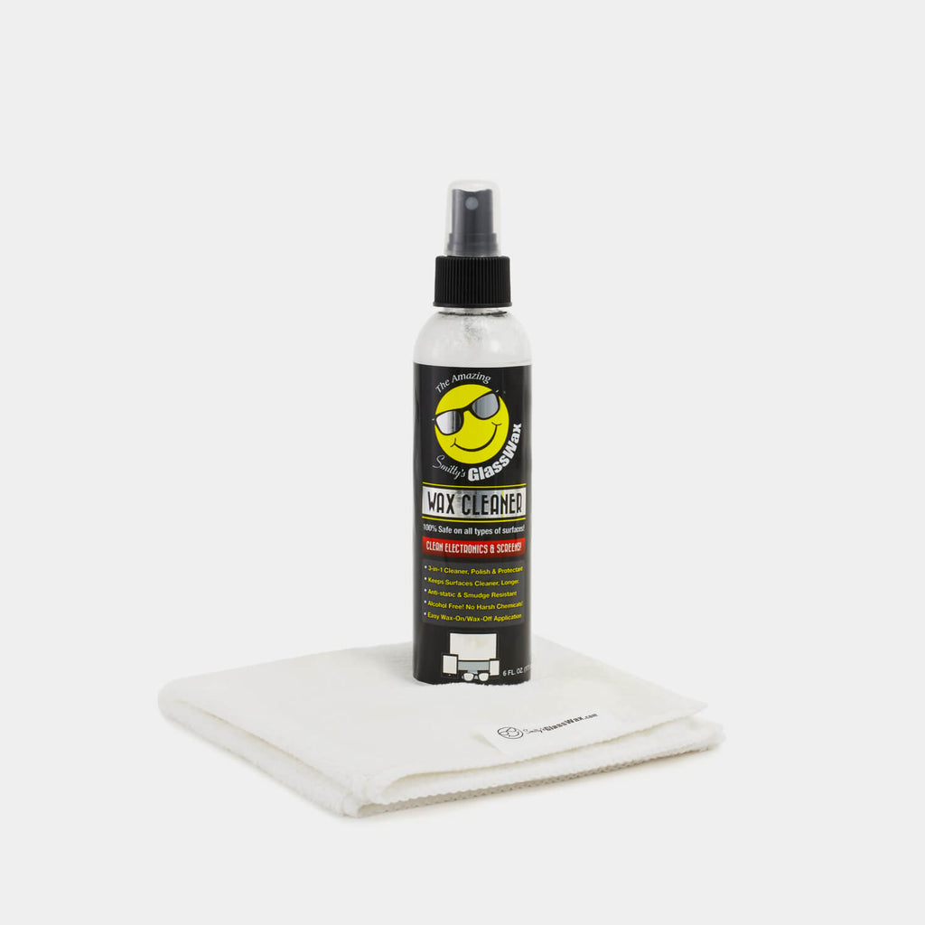 6oz spray bottle + 1 WHITE cloth
