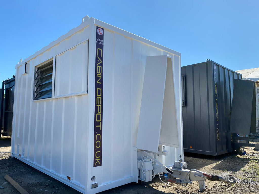 Modular buildings, portable cabins, towable welfare units