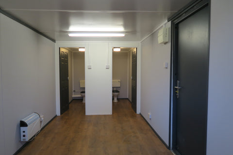 No 16 | 24ft x9ft | Anti Vandal  Site Canteen + 2 Toilets