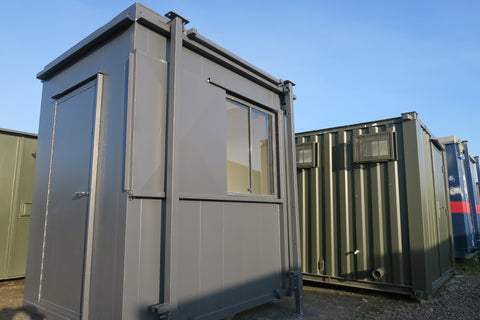 #16. 8x6 Ft Gate House-Anti Vandal Site Office