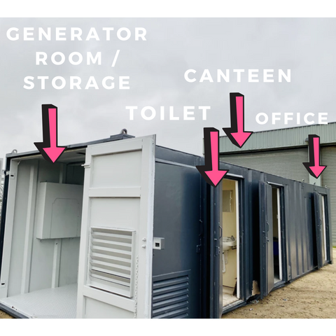 No 52 | 32 x 9ft | Anti Vandal |  Canteen| Office | Toilet| Drying Room | Storage