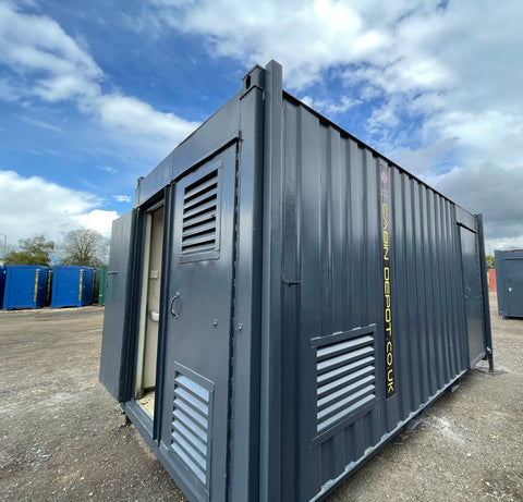 No 471 | 16 x 8 ft| Static Welfare | Canteen | Toilet|