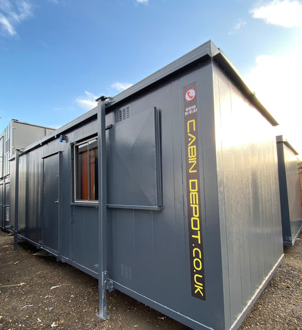 No 351 | 24x10ft |Toilet Block/ Office or Drying room | (7x3m) | 3 Toilet+ shower |