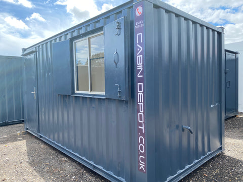 No 281 | 16x8 ft Canteen | Office Anti Vandal Container