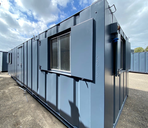 No 243 | 32x10ft | Double Office | Canteen Portable Building