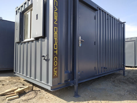 No 443 | 16x8 ft Canteen | Office Anti Vandal Container