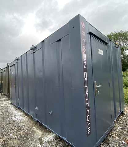 No 253 | 16x9 ft | Anti Vandal 3+1 Toilet Block