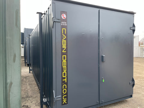 No 456 | 21x8 ft | Steel Secure Store | Storage Container.