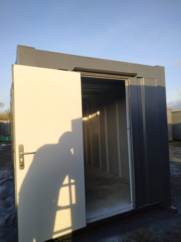 12x8 ft Anti Vandal secure store (Personal Door Installed) Storage Container