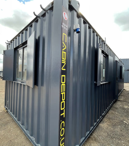 No 438 | 32x10ft | Office | Canteen Portable Building