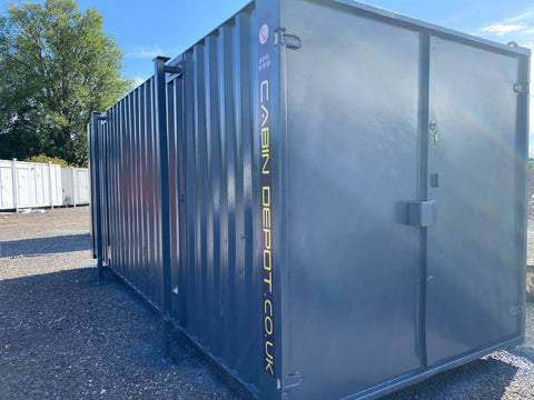 No 248 | 21x8 ft | Steel Secure Store | Storage Container