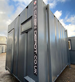 No 365 | 12 x 9ft | Anti Vandal 2+1 Toilet Block