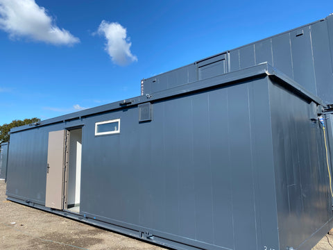 No 313 | 32x10 ft Site Office/CANTEEN | 2+1 Toilet | 2 in 1.