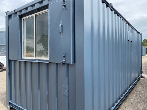No 274 | 21ft x 8ft Anti Vandal Site Office/Canteen Container