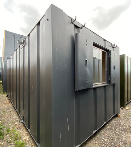 No 211 | 21ft x 8ft Anti Vandal Site Office/Canteen Container