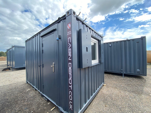 No 282 | 12x8 Ft | Anti Vandal Site Office