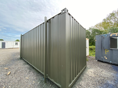 No. 144- 21x8 ft Steel Secure Store. Storage Container.