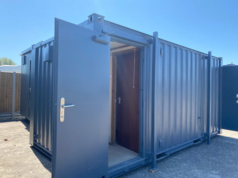 No 218 | 16x9 ft Anti Vandal 3+1 toilet Block