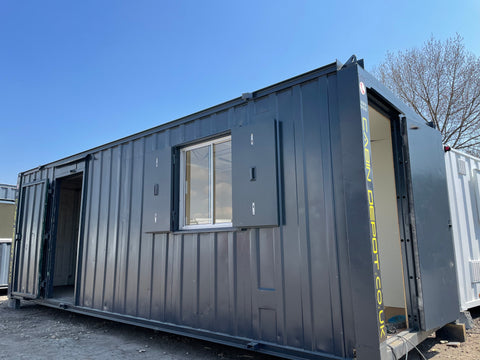 No 460 | 24x8 ft | 50/50 split | Toilet Block/Office| Portable Building