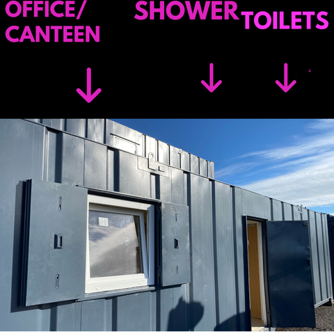 No 327 | 32x10 | canteen  l| 1 Shower room | Toilet's