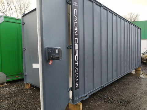 No 455 | 21x8 ft | Steel Secure Store | Storage Container.