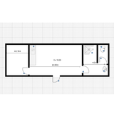 No 323 | 32x10 ft Office/Canteen + Toilet + Shower + Office