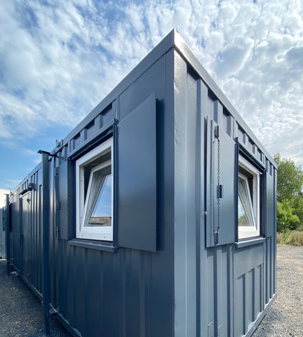 No 273 | 32x10ft | Double Office | Canteen Portable Building