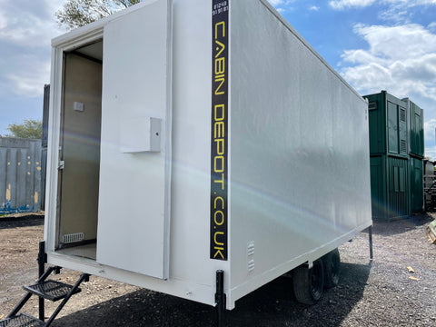 No 465 | 16 x7 ft | Mobile Welfare | Towable Toilet Block | Canteen